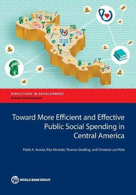 Toward more efficient and effective public social spending in Central America by Pablo Acosta
