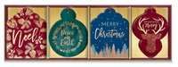 Lady Jayne: Bold Copper - Die-cut Gift Tags (Box of 16)