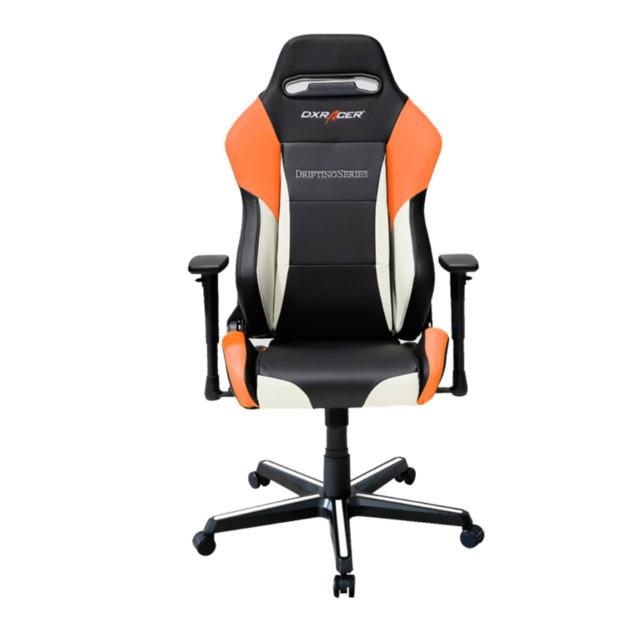 DXRacer Drifting Series DM61 Gaming Chair (Black and Orange) for