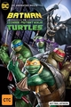 DC Batman vs Ninja Turtles on DVD