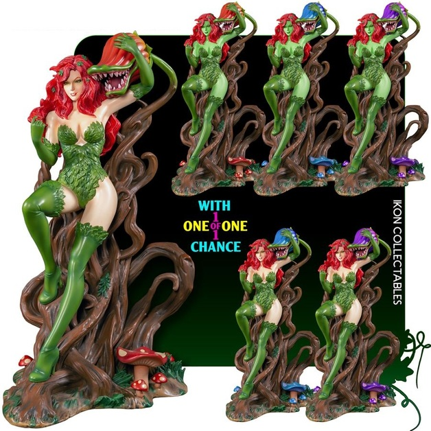 Poison Ivy Thorn Throne 12 Premium Statue At Mighty Ape Nz