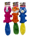 Chomper Tubular Squeaker Funny Critters With Tail