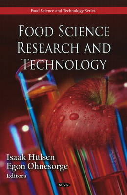 Food Science Research & Technology image