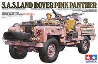 """Tamiya British SAS Land Rover """"Pink Panther"""" 1:35 Model Kit image"""