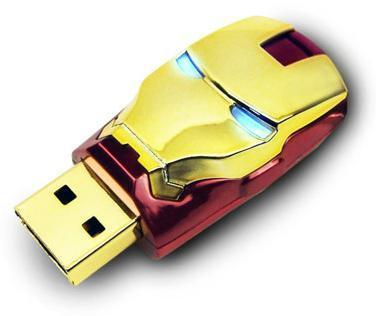 Marvel Avengers 8GB USB Flash Drive - Ironman