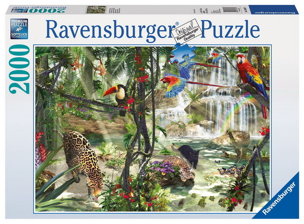 Ravensburger 2000 Piece Jigsaw Puzzle - Jungle Impressions