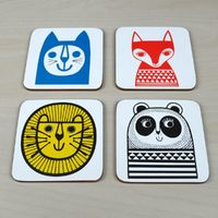 Jane Foster: Coasters (Set of 4)
