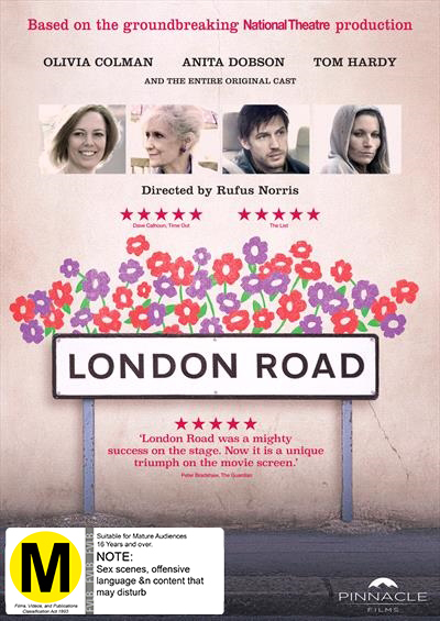 London Road on DVD image