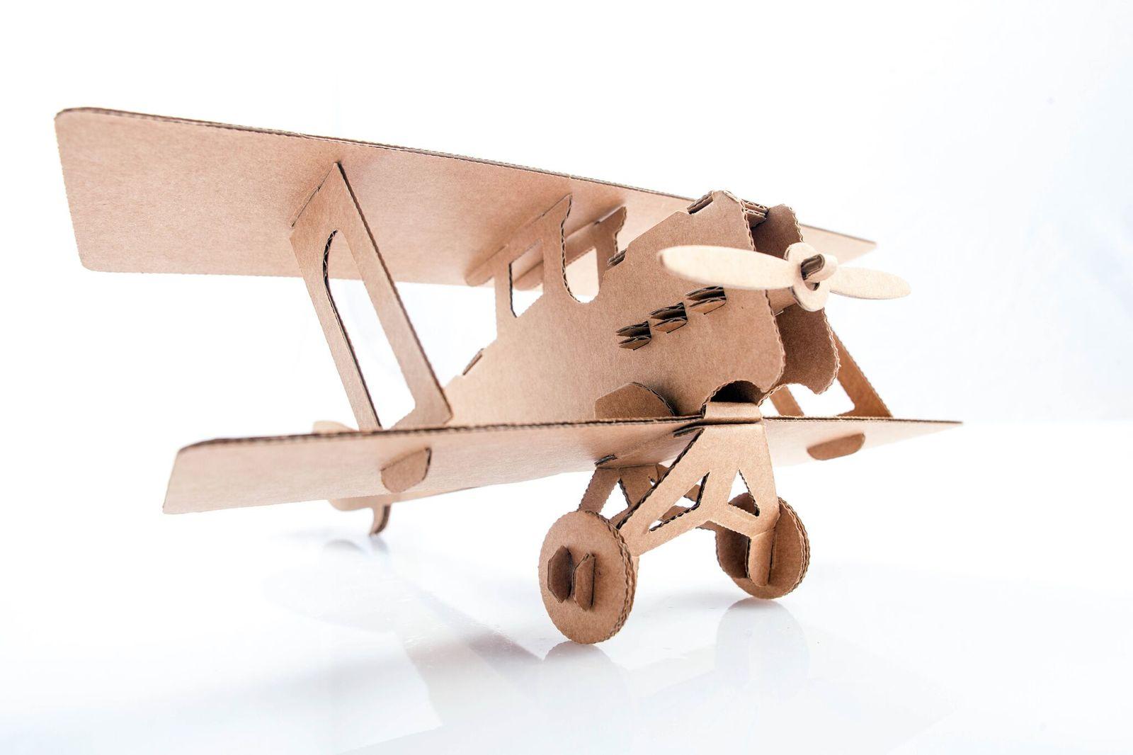 Leolandia Biplane (Natural) image