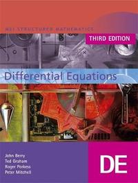 MEI Differential Equations Third Edition by John Berry image