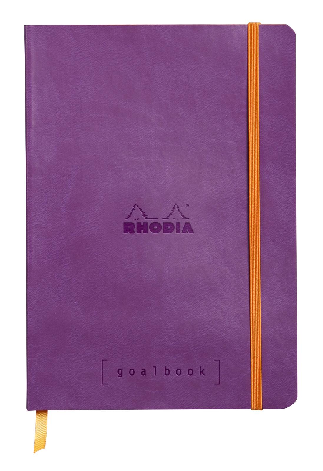 Rhodiarama A5 Goalbook Dot Grid - Violet image