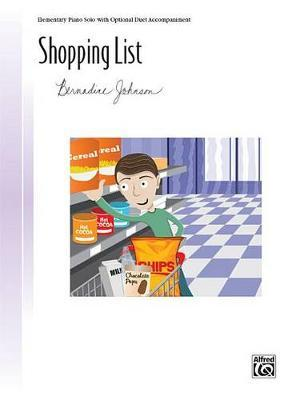 Shopping List by Bernadine Johnson image