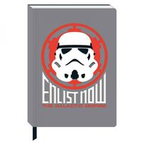 Star Wars: A5 Notebook - Stormtrooper Icon