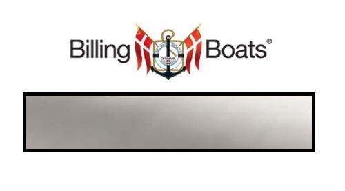 Billing Boats: Acrylic Paint - Silver (22ml)