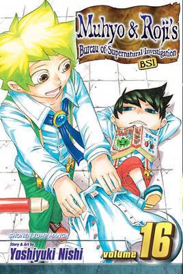 Muhyo & Roji's Bureau of Supernatural Investigation, Volume 16 by Yoshiyuki Nishi