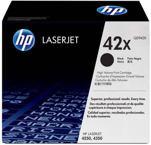 HP 42X High Yield Toner - Black