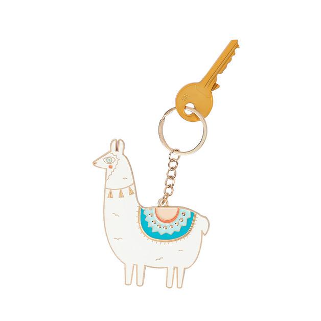 Oversized Keyring - Llama
