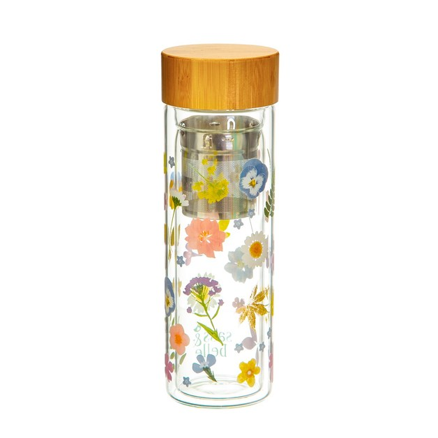 Sass & Belle: Glass Water Bottle with Infuser