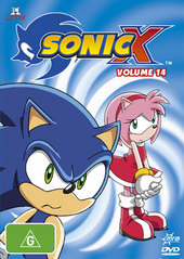 Sonic X - Volume 14 on DVD