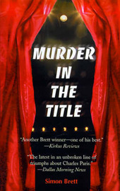 Murder in the Title: A Crime Novel by Simon Brett image