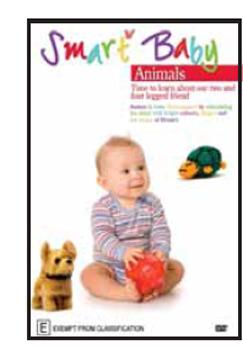 Smart Baby - Animals on DVD