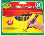 My First Jumbo Crayons - Crayola