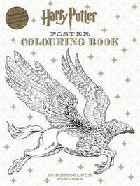 Harry Potter: Poster Colouring Book by Insight Editions