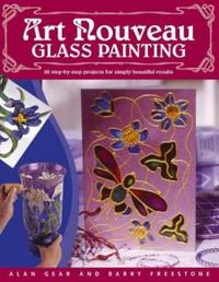 Art Nouveau Glass Painting by Alan Gear image