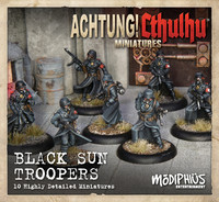 Achtung! Cthulhu - Black Sun Troopers Unit Pack