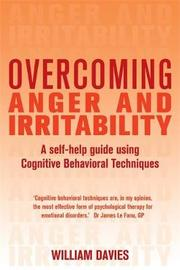 Overcoming Anger and Irritability, 1st Edition by William Davies image
