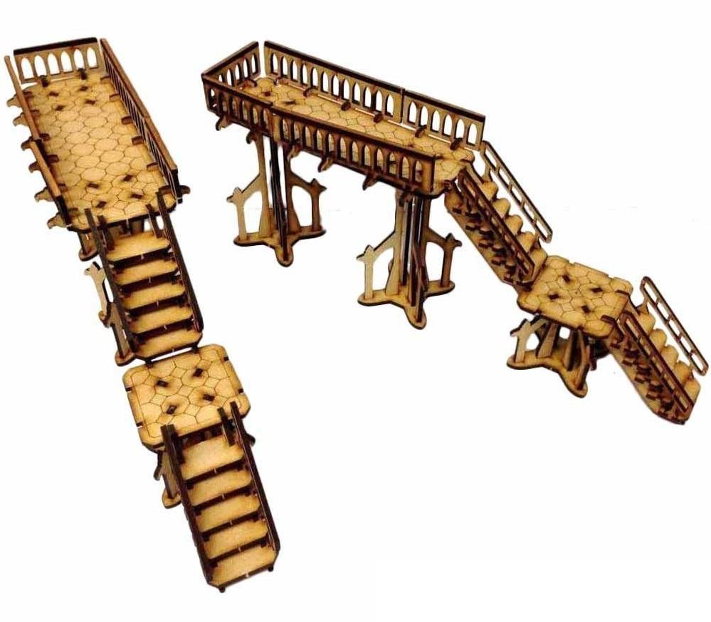 TTCombat: Tabletop Scenics - Gothic Walkways image