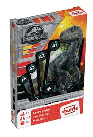 Jurassic World Shuffle: Crazy Eights - Card Game