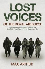 Lost Voices of The Royal Air Force by Max Arthur image