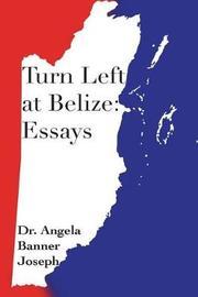 Turn Left at Belize by Dr Angela Banner Joseph