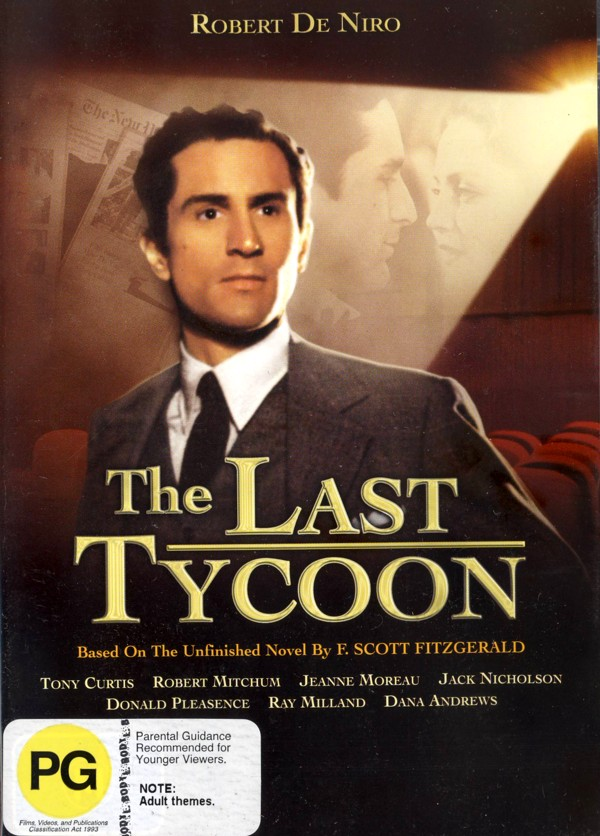 The Last Tycoon on DVD image