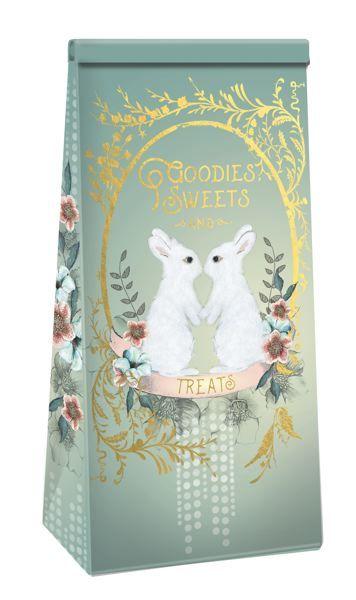 Papaya: Foil Christmas Card Floral Gold Peace