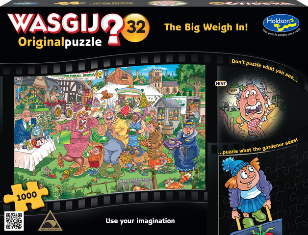 Wasgij: 1000 Piece Puzzle - Originals #32 (The Big Weigh In)