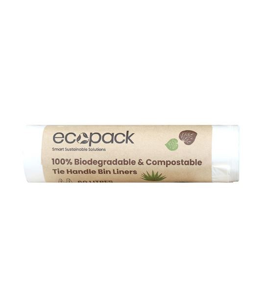 Eco Bags: Compostable and Biodegradable Bin Liner (60L)