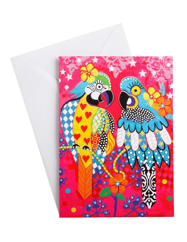 Maxwell & Williams: Love Hearts Greeting Card - Araras