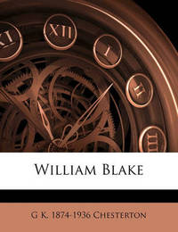 William Blake by G.K.Chesterton