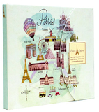 Paris Weekly Planner Folder (Any Year) by Life Canvas