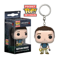 Uncharted: Nathan Drake - Pop! Vinyl Key Chain