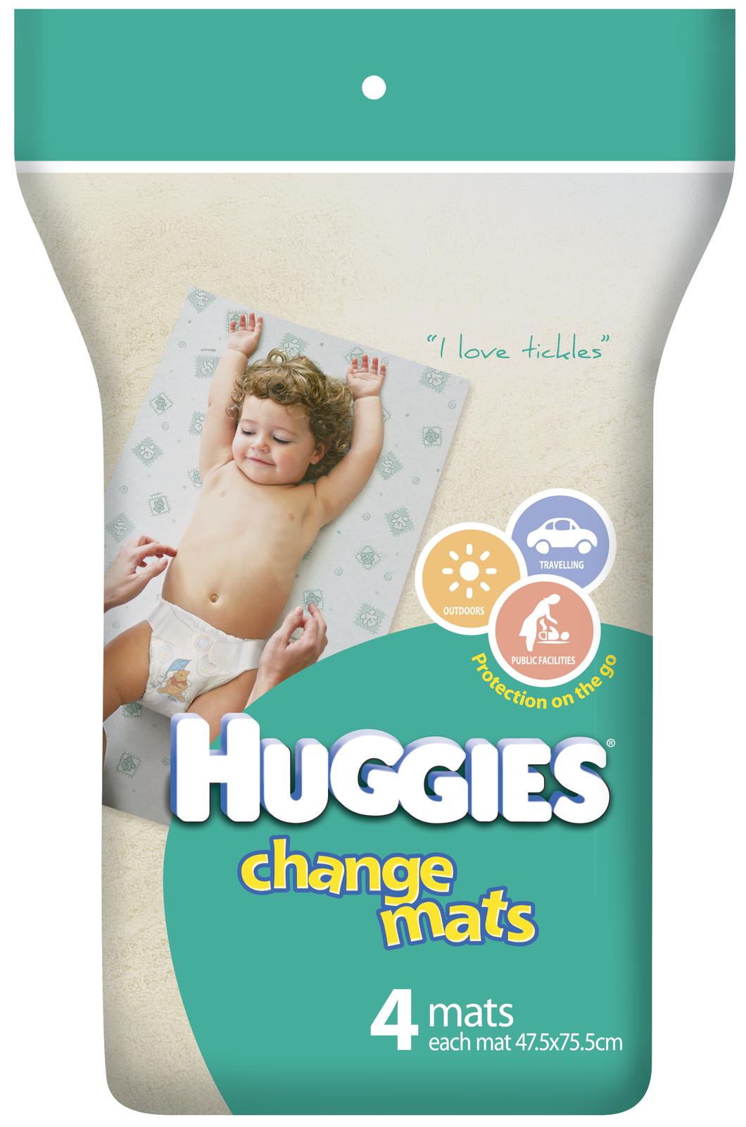 Huggies Baby Change Mats - 4 Pack image