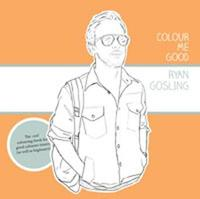 Colour Me Good Ryan Gosling 1 by Mel Elliott