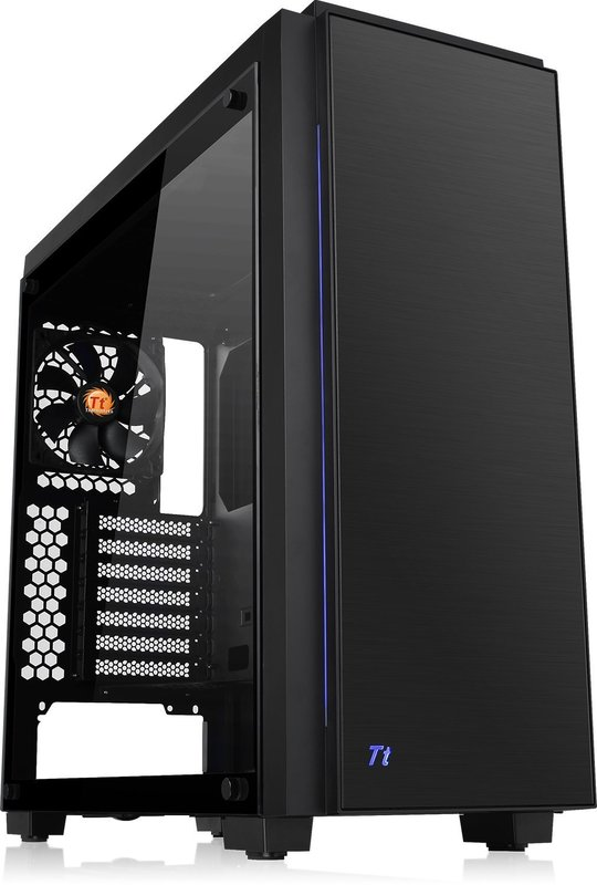 Thermaltake: Versa C23 Tempered Glass RGB Edition Mid-Tower Chassis