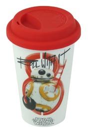 Star Wars: Ceramic Travel Mug - Roll With It