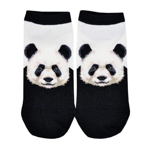 Socksmith: Women's Pandamonium Ankle Socks - White