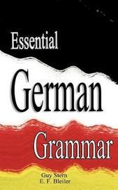 Essential German Grammar by Guy Stern