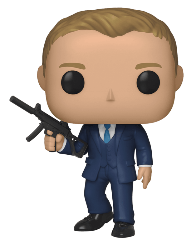 James Bond: Daniel Craig (Quantum of Solace) - Pop! Vinyl Figure