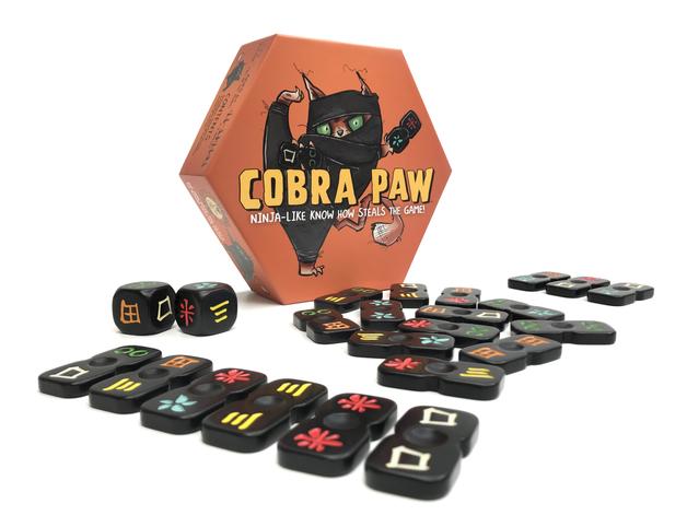 Cobra Paw - Board Game